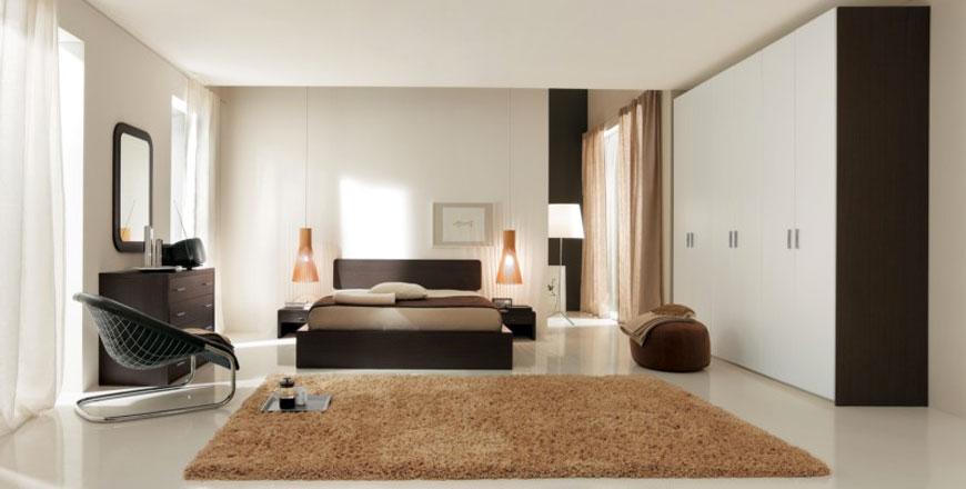 Camere da letto matrimoniali moderne a Bologna e Ferrara